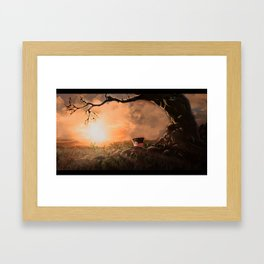 Landscape wonderland Framed Art Print