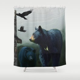 The Sacred Trail of the Great Bear Shower Curtain