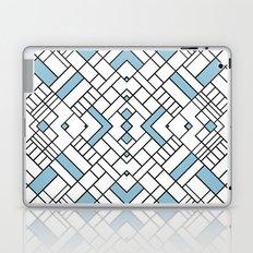 PS Grid 45 Sky Blue Laptop & iPad Skin