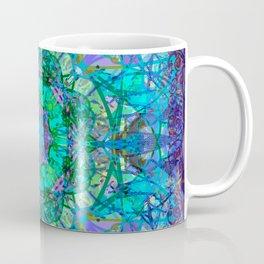 Crystal and Ice Celtic Tribal Mandala Coffee Mug