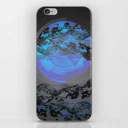 Neither Up Nor Down iPhone Skin