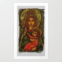 madonna Art Prints featuring Madonna by Guna Andersone & Mario Raats - G&M Studi