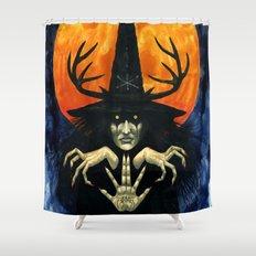 Autumn Conjurer Shower Curtain