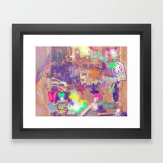 Come on, Come on Framed Art Print