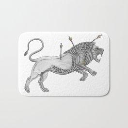 Mesopotamian Lion Bath Mat