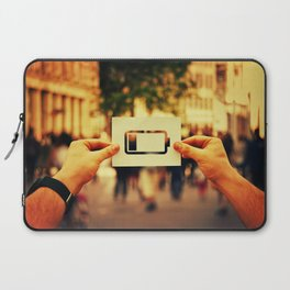 low battery icon Laptop Sleeve