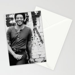Bill Withers enhanced and grained old photo. For Jazz lovers. Stationery Cards