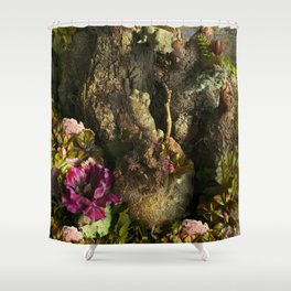 The Forbidden Swamp of Ancient Mars Shower Curtain