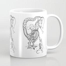 Mother Dragon with Baby Egg Coffee Mug
