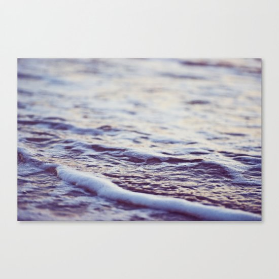 Morning Ocean Waves Canvas Print