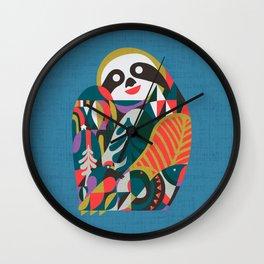 Nordic Sloth Wall Clock