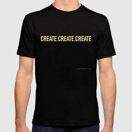 CREATE.CREATE.CREATE T-shirt