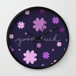 More good luck Wall Clock