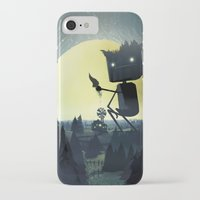 giants iPhone & iPod Cases featuring Hill Giants by GlennPorterArt