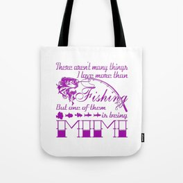 Fishing Mimi Tote Bag