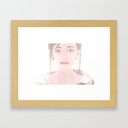 The Witcher Russia: Cirilla Framed Art Print