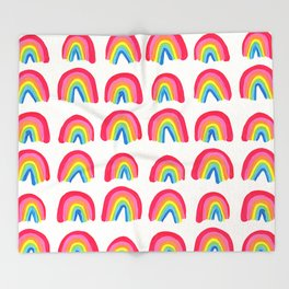 Rainbow Collection – Classic Palette Throw Blanket