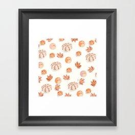 Autumn must have Framed Art Print