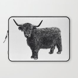 Scottish Highland Cattle Laptop Sleeve