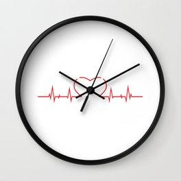 JUGGER HEARTBEAT GIFT Wall Clock