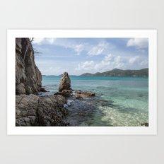 Caribbean Beach Photograph Art Print