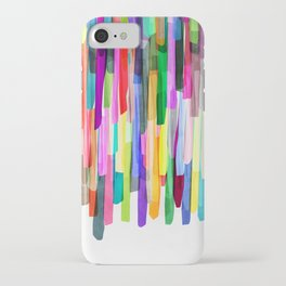 Colorful Stripes 4 iPhone Case