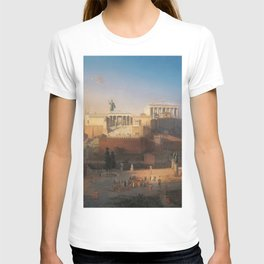The Acropolis of Athens, Greece by Leo von Klenze T-shirt