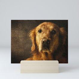 The Best Friends - Golden Mini Art Print