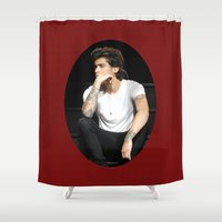 zayn Shower Curtains featuring Zayn  by clevernessofyou