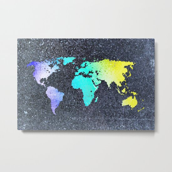 The World Belongs to you Metal Print