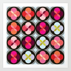 Geometric Flower #3 Art Print