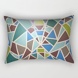 Bernardtime pattern Rectangular Pillow