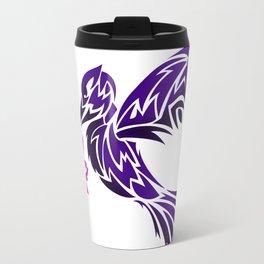 Hummingbird W/ Flower Travel Mug
