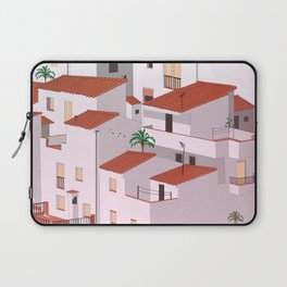 Sunset in my town Laptop Sleeve