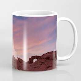 Arch Rock Sunset, Valley of Fire - I Coffee Mug