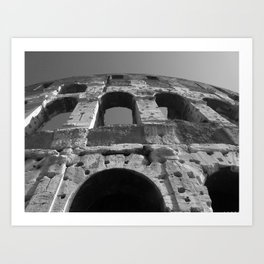 Roman Architecture at its Best Art Print