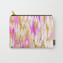 Tiff Ikat Carry-All Pouch