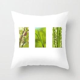 Bambus Throw Pillow