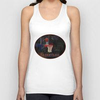 basketball Tank Tops featuring Basketball by LoRo  Art & Pictures