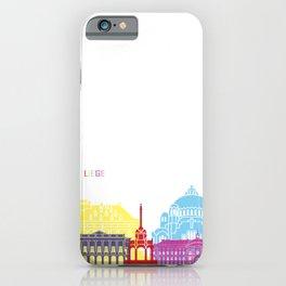 Liege skyline pop iPhone Case