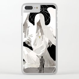 The Angel Clear iPhone Case