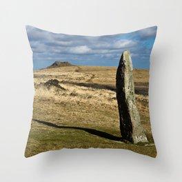 Menhir Throw Pillow