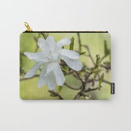 Magnolia Stellata Carry-All Pouch