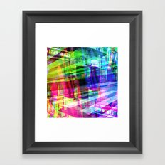 Apart, it rhymes with heart, but with a corkscrew. [RGB] Framed Art Print