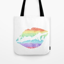 Beauty Kiss Lips Gay Lesbian CSD Gift Tote Bag