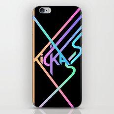 Kickass III iPhone & iPod Skin