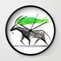 hannibal Wall Clocks featuring Hannibal  by gunberk