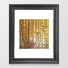 Autumn delight Framed Art Print