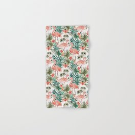 FLAMINGO PARADISE Hand & Bath Towel