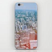 toronto iPhone & iPod Skins featuring Toronto by Sami Kelsh